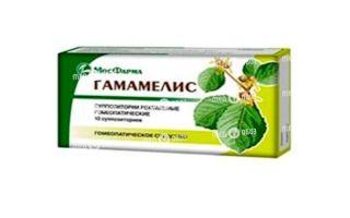 Обзор препарата Гамамелис