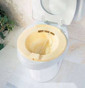 Ванночка на унитаз