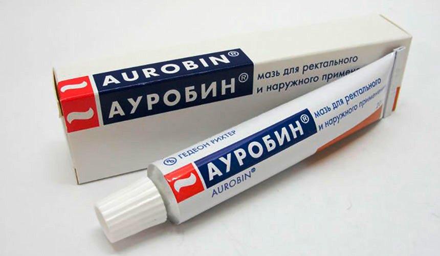 мазь лечебная ауробин