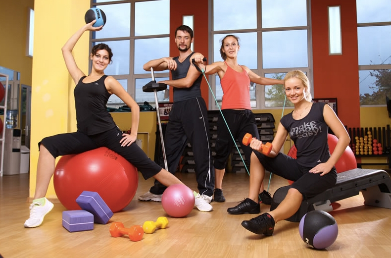 команда фитнес