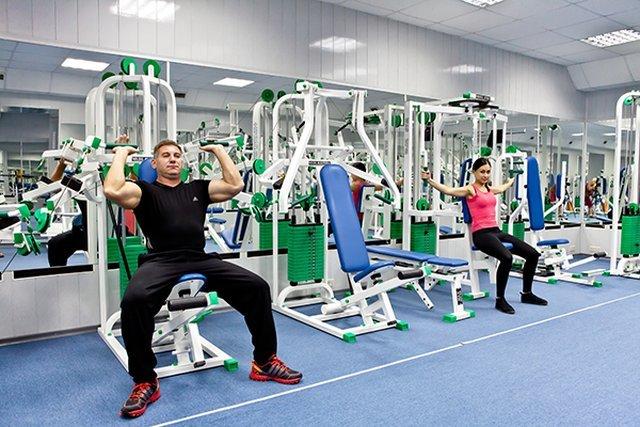 упражнения в зале